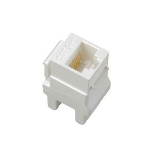 CAT5E KEYSTONE INSERT WHITE