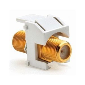 GOLD STANDARD F CONNECTOR-BRWN