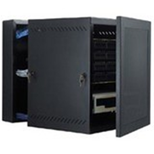 24  WALL MNT CABINET BLK