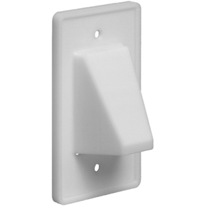 CABLEPLATE RVRS 1-GNG WHT