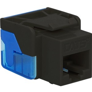 CAT5E INSERT 8P8C EZ BLACK