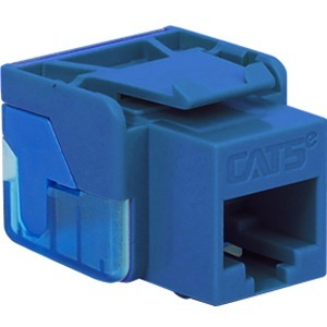 CAT5E INSERT 8P8C EZ BLUE