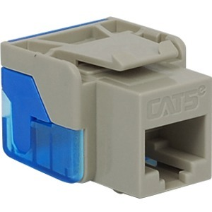 CAT5E INSERT 8P8C EZ GRAY