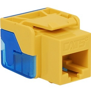 CAT5E INSERT 8P8C EZ YELLOW