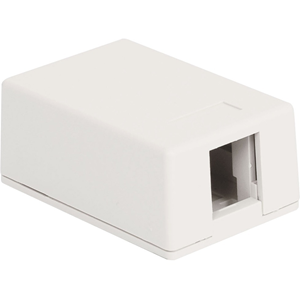 1-PORT SURF MNT BOX WHITE