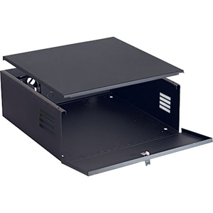 DVR LOCKBOX WITH FAN