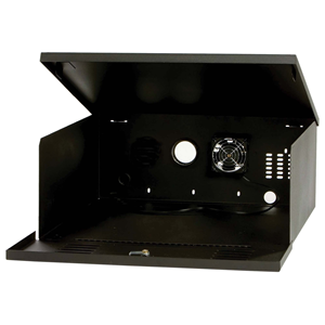 DVR/VCR LOCK BOX W/FAN 16 W X