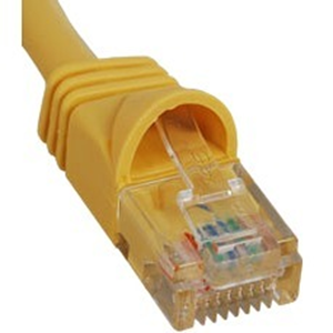 7-FT CAT5E PATCH CABLE YELLOW