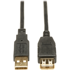 16FT USB 2.0 GLD EXT DBL CABLE