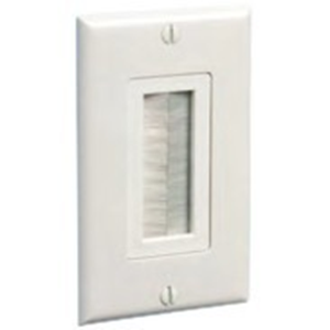 BRUSH WITH WALL PLATE