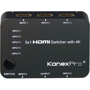 5X1 HDMI SWITCHER WITH 4K