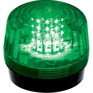 12 LED STROBE, FLASH, GREEN