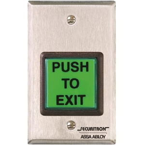 EMERGENCY EXIT BUTTON W/ TIMER