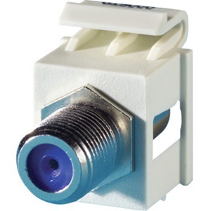 F-CONNECTOR KEYSTONE MODULE