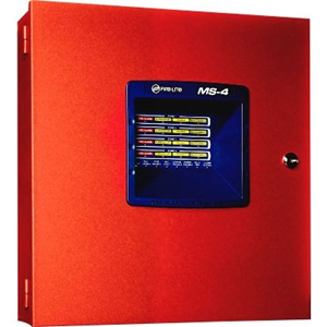 4 ZONE FIRE CONTROL PANEL