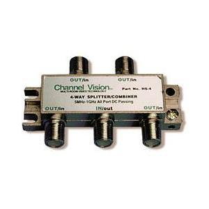 1-IN 4-OUT RF SPLITTER