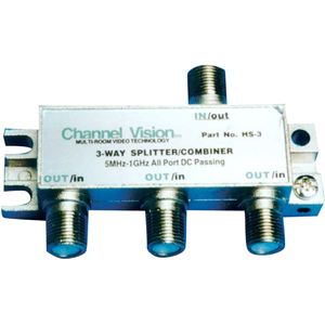 1-IN 3-OUT RF SPLITTER